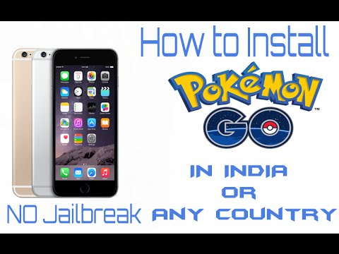 How To Install Pokemon Go In India ios Without Jailbreak [Hindi]