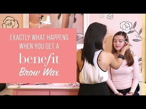 Exactly What Happens When You Get a Benefit Brow Wax | BeautyMNL
