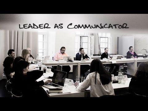 'Leader as Communicator'