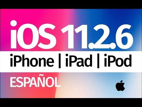 Como Actualizar al iOS 11.2.6 - iPod iPhone iPad