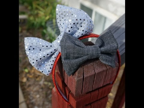 Fabric Hair Bow Tutorial with Artemis in Love