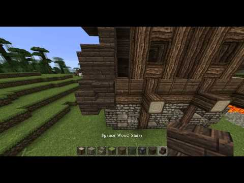 Skyrim Breezehome (Whiterun) - Minecraft Tutorial
