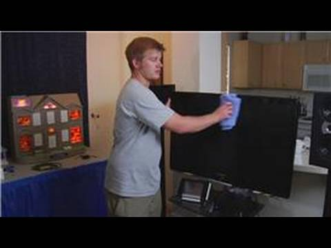 Home Theater Systems : How to Clean a Plasma TV Screen