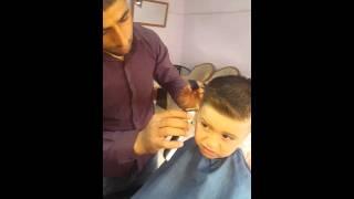 Çocuk  saç modelli berber eyyup