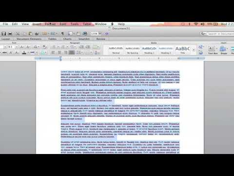 How to Center Documents Vertically in Microsoft Word 2010 : Microsoft Word Help