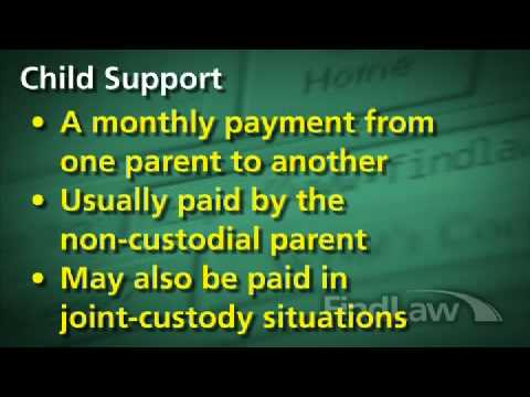 Child Support Rights: Legal Information from FindLaw