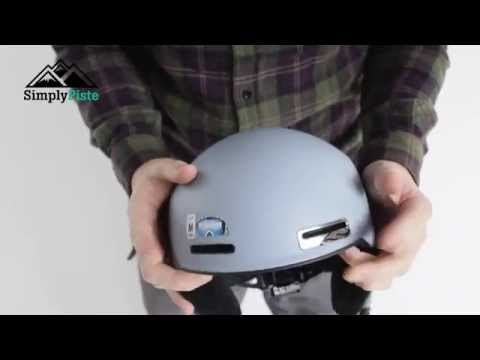 Smith Optics Maze Ski Helmet - Burnout www.simplypiste.com