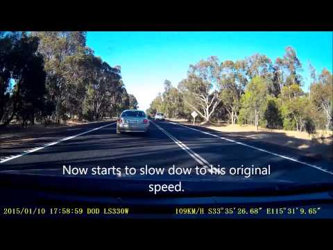 Overtaking Lane Bandit Bussell Highway WA