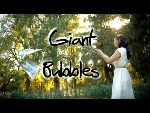 Giant Bubbles - Awesome Science