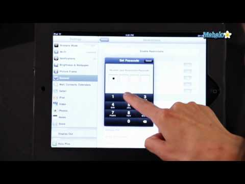 How to Password Protect Apps on The iPad