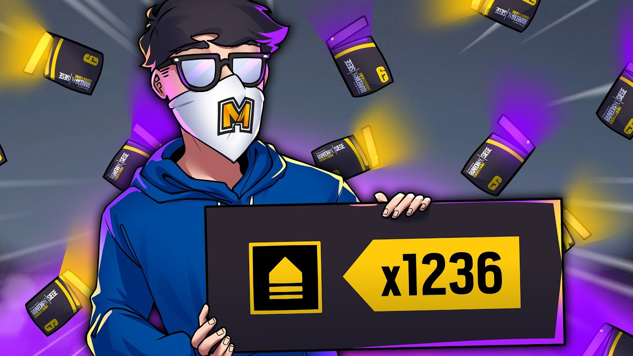 Opening 1236 Alpha Packs to break a Siege record