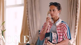 Alicia Vikander Has All the Answers...Or Does She?   Magic Diner Part II   Vogue