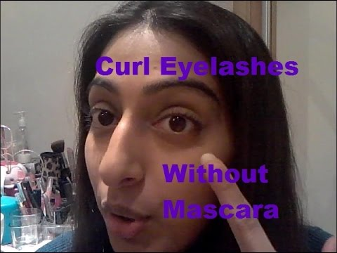 How To: Curl Your Eyelashes Without Using Mascara