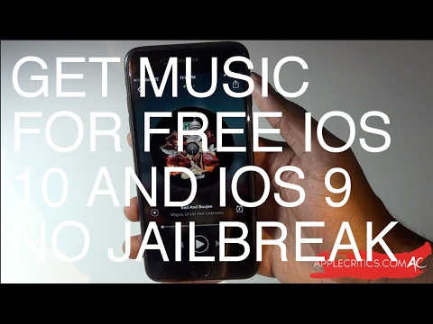 How To Download Music For Free No Jailbreak No Computer iOS 10/9