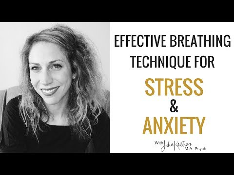 A Simple Breathing Exercise for Stress & Anxiety