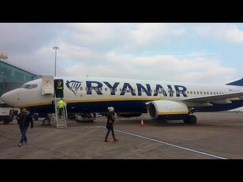 Ryanair Boeing 737-8AS Frankfurt to Manchester | Full Flight
