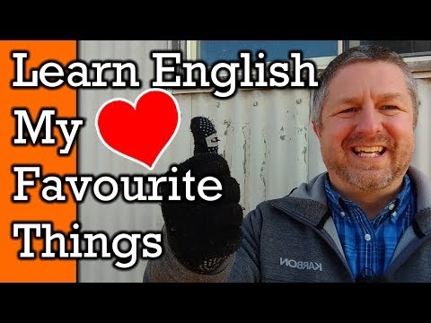 Learn English Words & Phrases To Talk About Your Favourite Things!