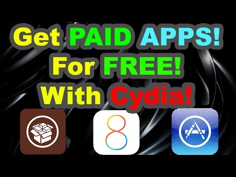 How to get PAID APPS for FREE with Cydia: iPhone, iPad, iPod Touch iOS 7 - 8.1.2!