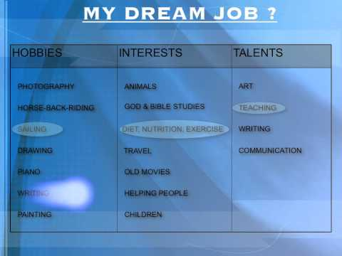 How to find out what your dream job is ?