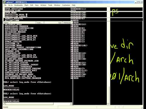 Oracle - Putting Your Database into ARCHIVELOG mode