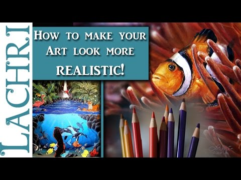 Tips to make your art look more realistic and less cartoony! Art Q&A w/ Lachri