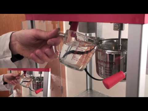 How to clean your Popcorn Machine (Kettle Cleaner)