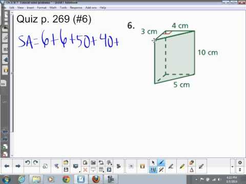 Triangular Prism- Surface Area & Volume