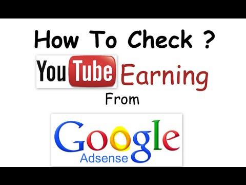 Tips & Tricks : How to Check YouTube Earnings in Google Adsense Account 2016/2017