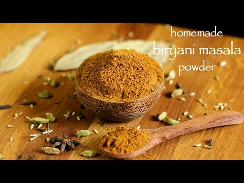 biryani masala recipe | how to make homemade biryani masala powder
