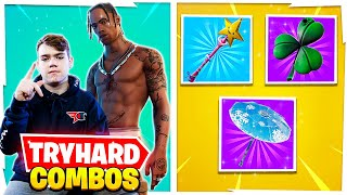 10 Most TRYHARD Skin Combos PRO Fortnite Streamers Use!