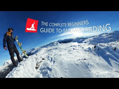 The Complete Guide to Beginner Snowboarding (360° Video)