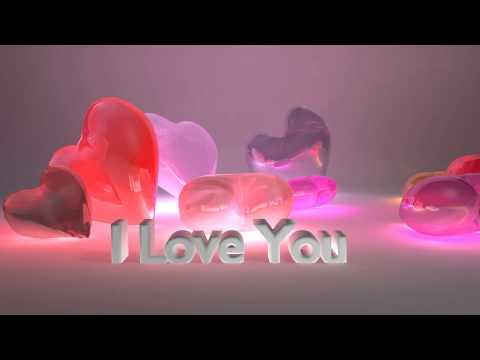 I Love You - Falling Candy Hearts - ECard