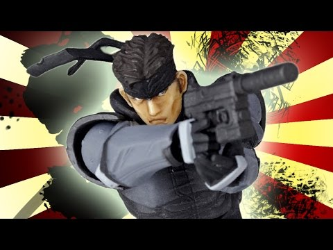 Metal Gear Solid Toys! - Toy Pizza (Ep. 60)