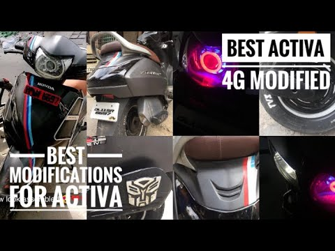 Tremendous Activa 4G Modified Best Modifications For Activa Bar Evergreenethics Interior Chair Design Evergreenethicsorg