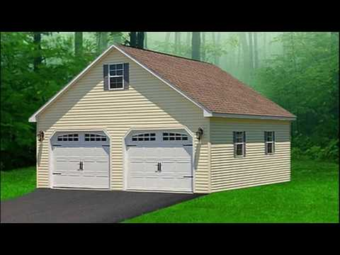 Two-Story Garages Pa | Prefab & Portable Garages | Double Wide Outdoor Structures Pa