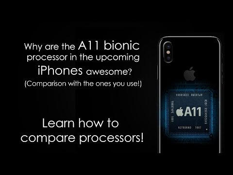 Why Apple A11 bionic processor chip is badass? iPhone X benchmark compared to others   vs Snapdragon