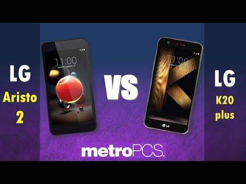 LG Aristo 2   VS LG K20 plus - metroPCS