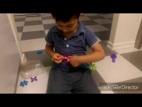 Toddler Activity to improve fine motor and cognitive skills and learning colours
