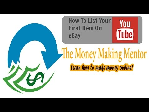 How to sell your first item on eBay