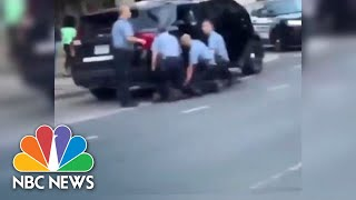 Video Shows New Angle Of George Floyd's Arrest With Multiple Officers | NBC News NOW