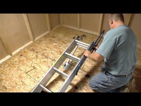 Werner Compact Attic Ladder - Short Installation Video