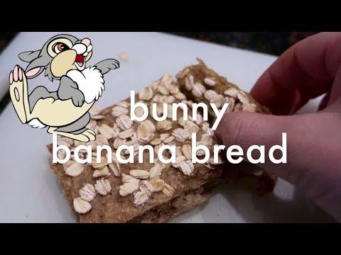 Bunny Safe Banana Bread
