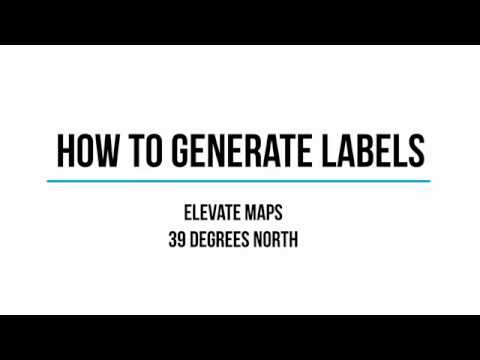 How to Generate Labels