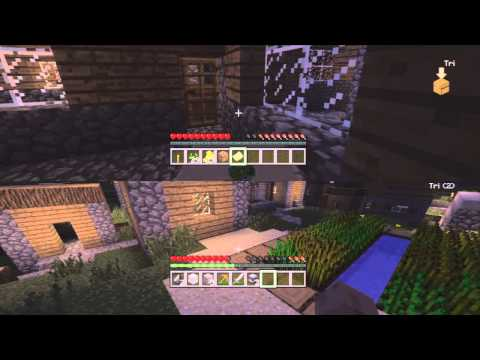 Minecraft on Ps3: Couch Co-op[1] - Setting up Splitscreen