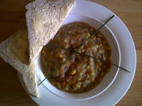 Sweetcorn, Potato & Parsnip Soup Recipe