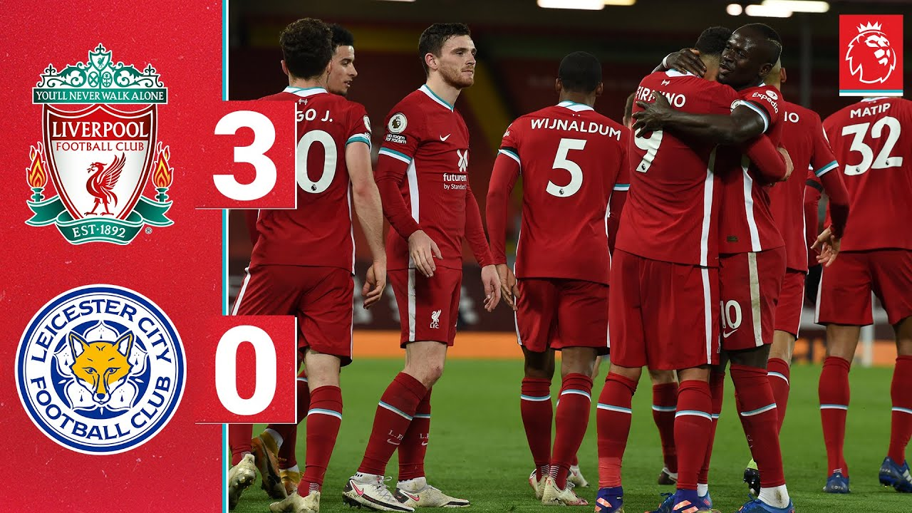 Highlights: Liverpool 3-0 Leicester | Jota & Firmino score for record-breaking Reds