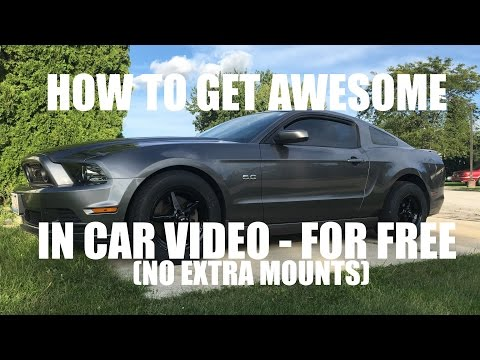 HOW I RECORD IN-CAR VIDEO (FOR FREE)