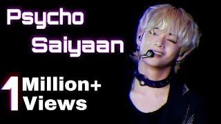 BTS KIM TAEHYUNG - Psycho Saiyaan [Saaho] ||Bollywood, Hindi || Song #KimTaehyung #PsychoSaiyaan