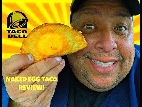 Taco Bell's® Naked Egg Taco REVIEW!