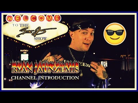 RYAN JAUNZEMIS - YOUTUBE CHANNEL INTRODUCTION (The Ryan Jay Show)